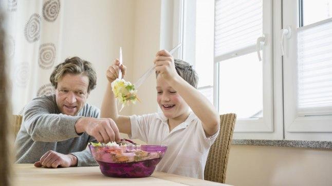 Lapse toiduvalikud kujundab kodu