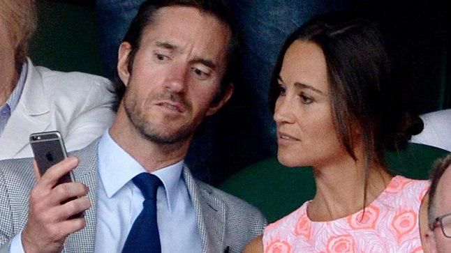 Pippa koos tulevase abikaasaga läinud aasta juulis