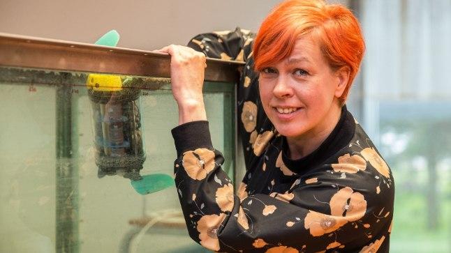 Biorobootik Maarja Kruusmaa paneb robotid kalade kombel ujuma