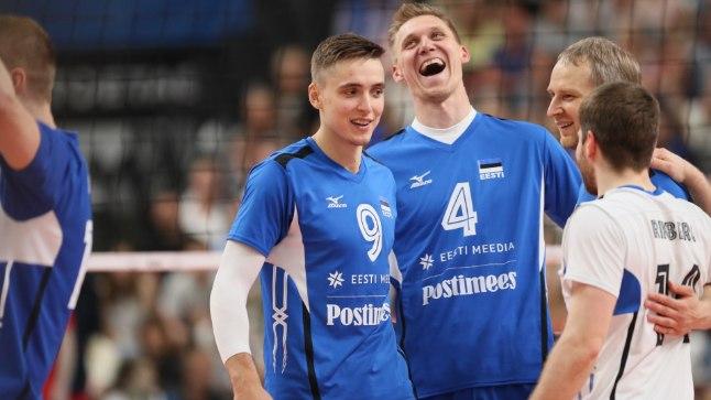 Eesti võrkpallikoondis näitas nädala jooksul suurepärast mängu.