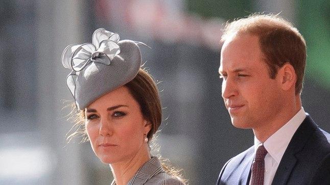 Prints ja tema abikaasa Kate