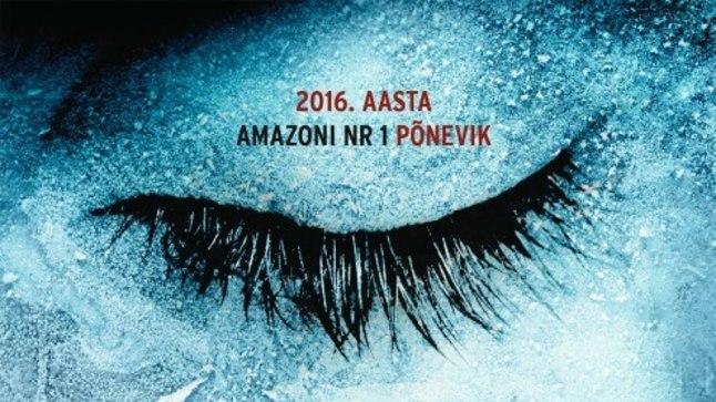 """Robert Bryndza """"Tüdruk jääs"""", inglise keelest tõlkinud Raili Puskar, kirjastus Pegasus, 2017"""