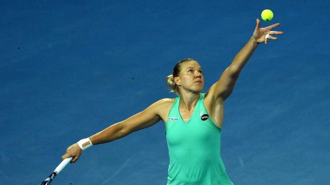 Kaia Kanepi naasis tenniseväljakule võidukalt.