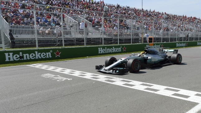 Lewis Hamilton võitis Kanadas kindlalt.