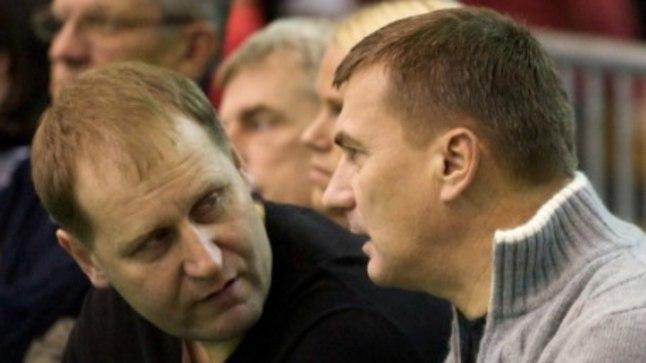 Urmas Kruuse (vasakul) ja Andrus Ansip.