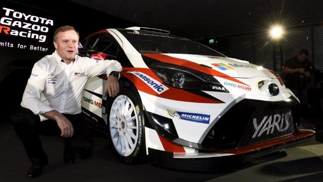 Tommi Mäkinen ja Toyota Yaris.
