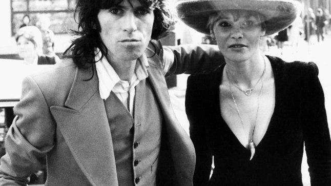 Anita Pallenberg ja Keith Richards 1973. aastal.