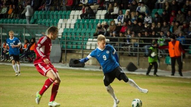 Tarmo Kink on Eesti koondist esindanud 82 korda, viimati 2014. aasta juunis Tadžikistani vastu.