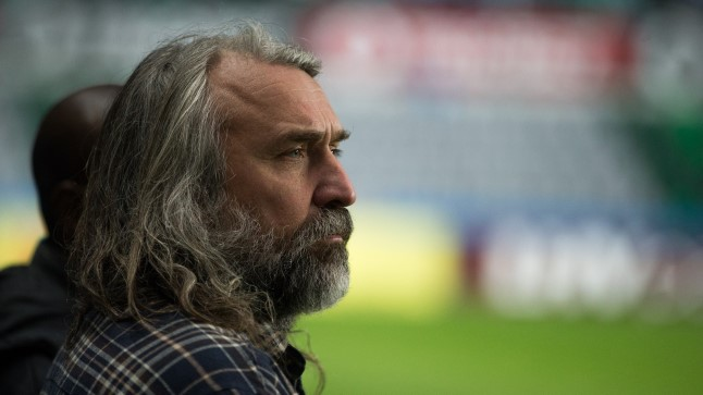 Jalgpalliliidu president Aivar Pohlak.
