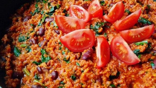 Chili sin carne bataadiga