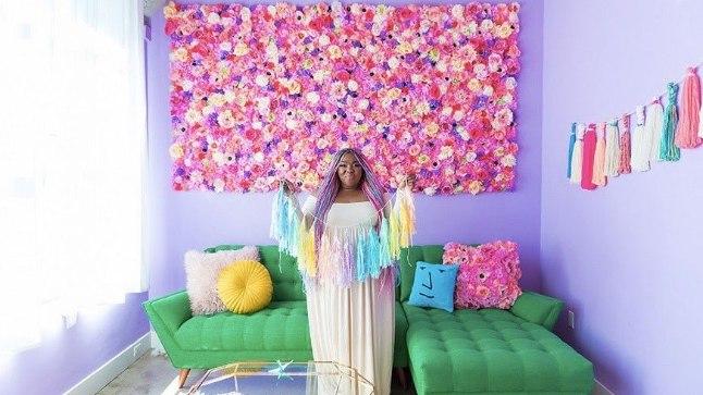 Disainer Amina Mucciolo oma elutoas