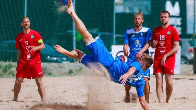 Eesti rannajalgpalli meistriliiga sai avalöögi.