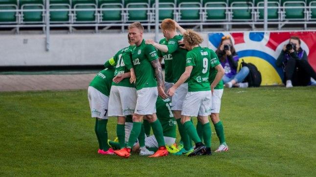 FC Flora kohtub Sloveenia klubi Domžalega.