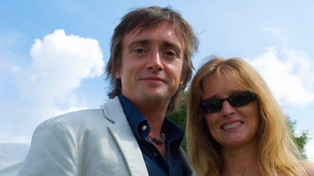 Richard Hammond ja tema naine Mandy