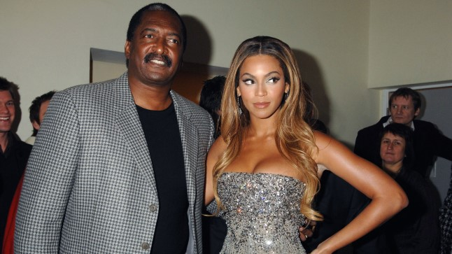 Beyoncé ja tema isa Mathew Knowles