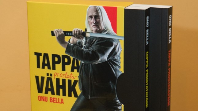 """Legendaarne muusik ja meelelahutustegelane Onu Bella, kodanikunimega Igor Maasik, esitles 20. juunil äsja valminud raamatut """"Tappa prostatavähk""""."""