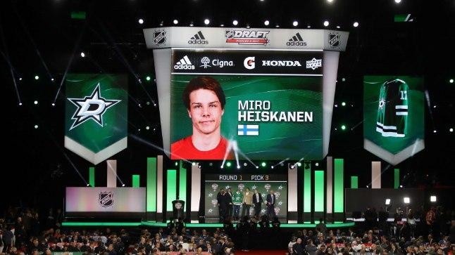 Drafti kolmas valik: Miro Heiskanen.