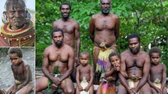 Секс в племени папуасов видео