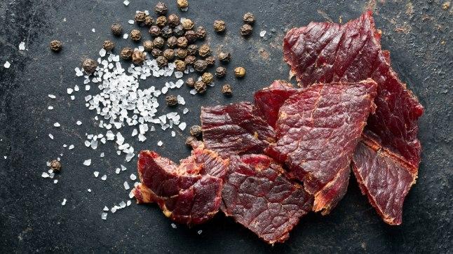 Vinnutatud veiseliha on hea proteiinisnäkk.