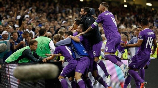 Madridi Real alistas Meistrite liiga finaalis Torino Juventuse