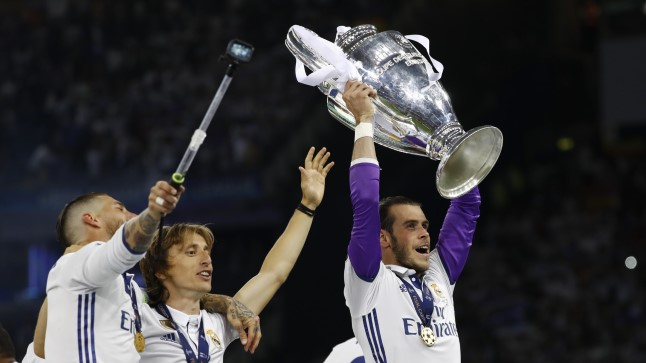RAHVUSKANGELANE: Waleslane Gareth Bale võitis Meistrite liiga juba kolmandat korda.
