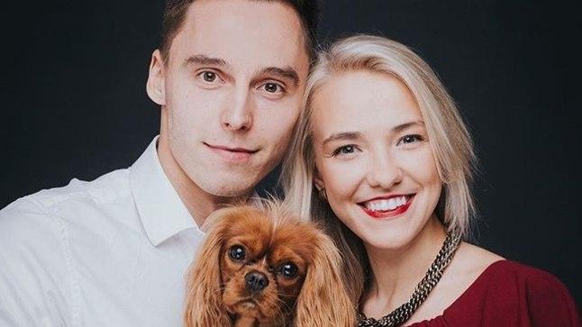 Siim Luts ja tema tüdruksõber Krista Kiik.