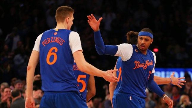 Kas Carmelo Anthony soostuks teatepulka edasi andma?