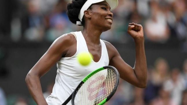 Venus Williams näitab, et vanus on lihtsalt üks number passis.
