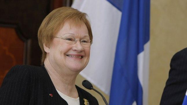 Soome president Tarja Halonen