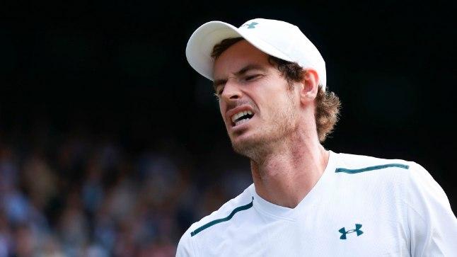 Löödud Andy Murray.