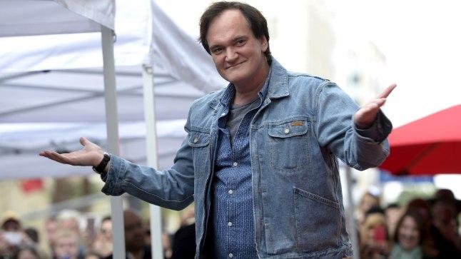 Lavastaja Quentin Tarantino
