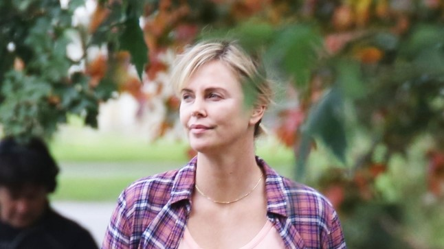 "Charlize Theron ""Tully"" võtetel"