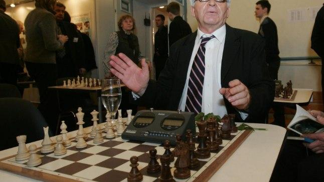 Bobby Fischeri legendaarseim konkurent Boriss Spasski 2006. aastal Tallinnas.