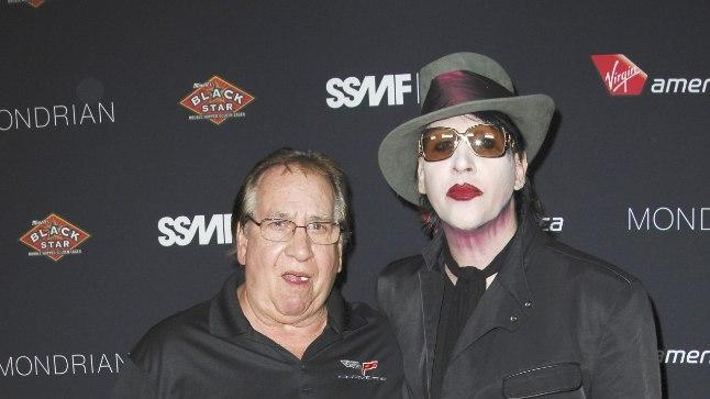Marilyn Manson oma isaga.