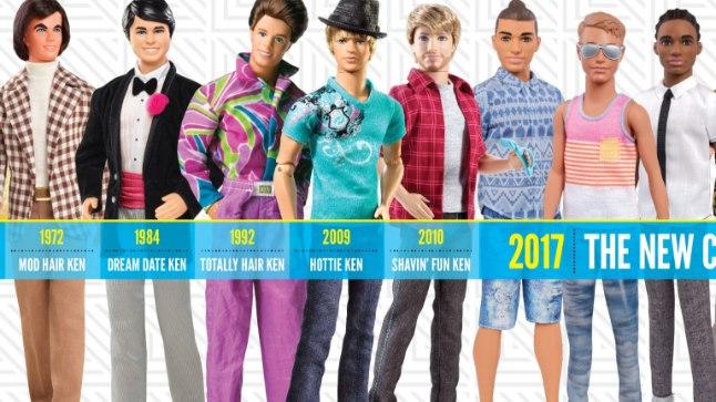 Siin ta on! Ken! Ja Ken! Ja veel kõik teised Kenid.