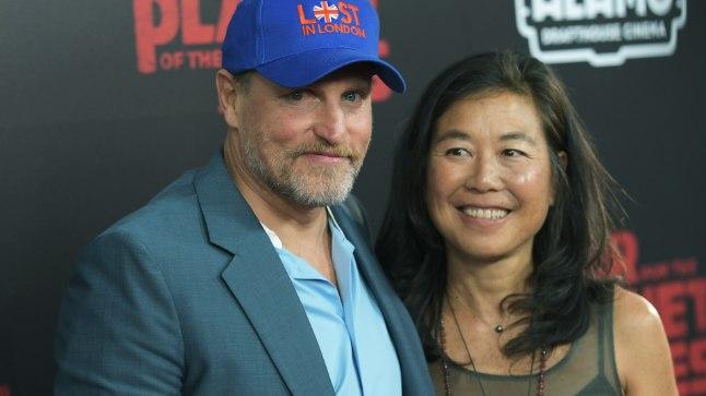 Woody Harrelson ja Laura Louie