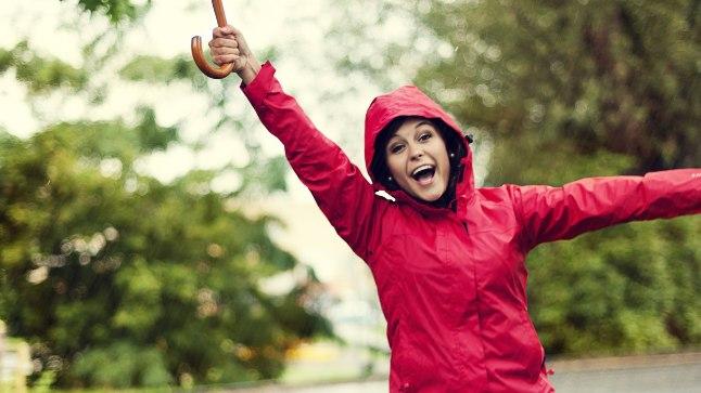 Mine vihmaga õue. Kerge tibutamine muudab jalutamise eriti virgutavaks.