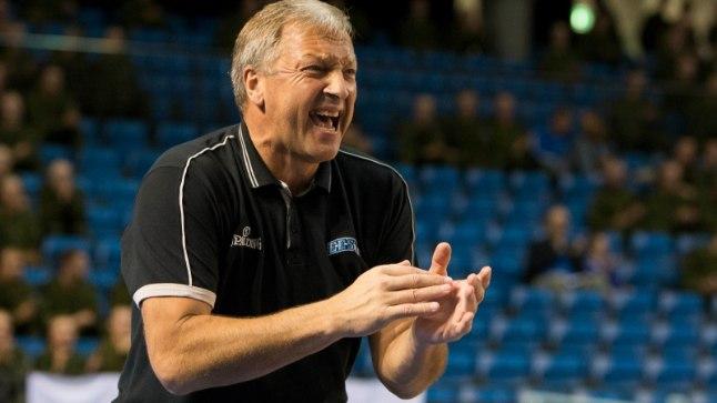 Korvpallikoondise peatreener Tiit Sokk.