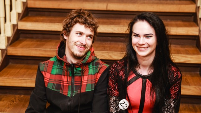 Helen ja Kalvi-Kalle.