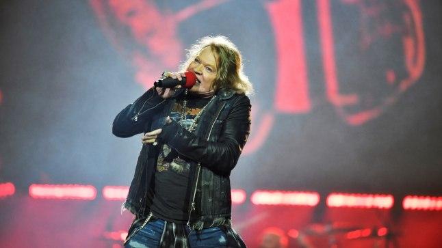 Guns N'Rosese solist Axl Rose