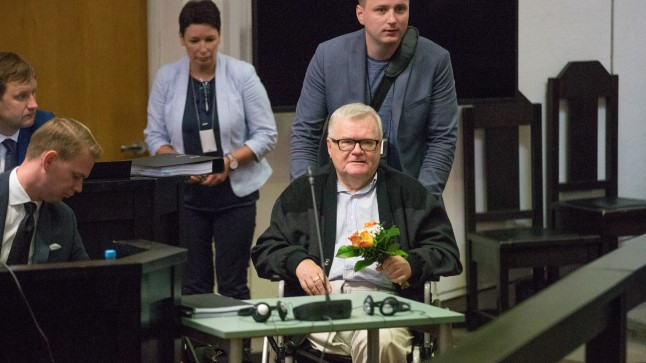 Эдгар Сависаар в суде