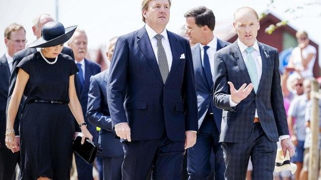 Kuningas Willem-Alexander ja kuninganna Maxima.