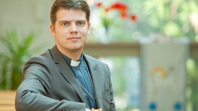 Viimsi Püha Jaakobi kiriku õpetaja Mikk Leedjärv