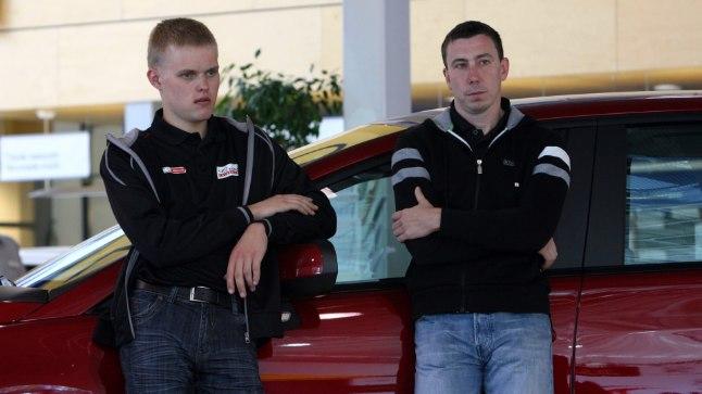 Ott Tänak ja Markko Märtin.