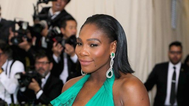 Lapseootel Serena Williams.