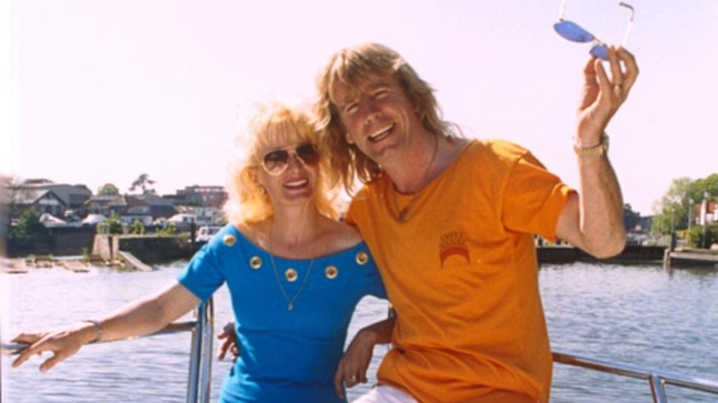 MAGUS ELU: Rick Parfitt oma teise naise Pattiga. Abielu purustas rokkari kokaiinilembus ja truudusetus.