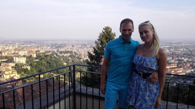 Olavi Otepalu ja Key Sulamägi romantilise Itaalia päikest ja ilu nautimas.
