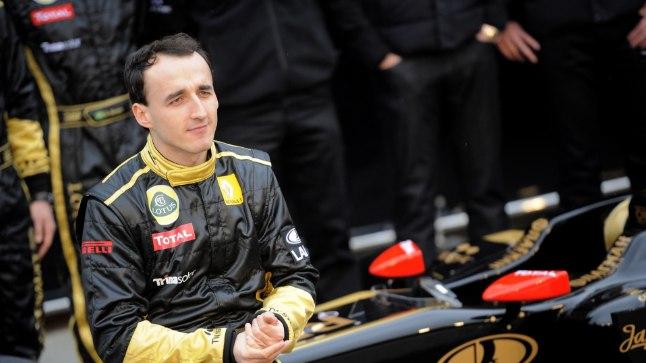 Robert Kubica 2011. aastal Lotus Renault'ga.