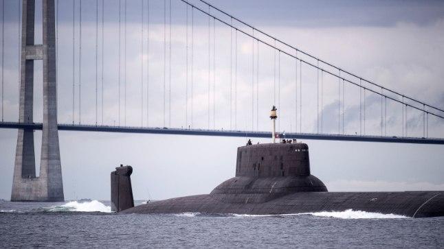 Venemaa allveelaev Dmitri Donskoi, maailma suurim (tuuma)allveeristleja.
