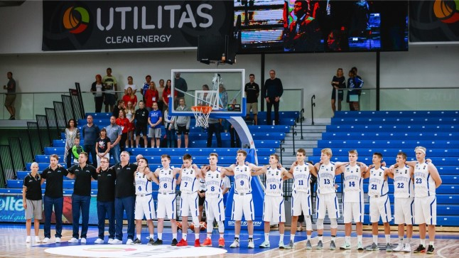 Eesti U18 koondise mängude ajal on suurem otsatribüün sisuliselt tühi olnud.
